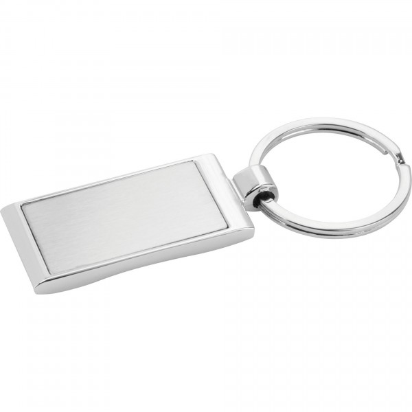 Custom Logo Wave Key Ring