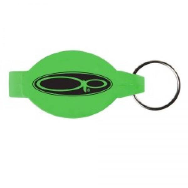custom logo elliptical beverage wrench bottle can opener w key chain. Black Bedroom Furniture Sets. Home Design Ideas