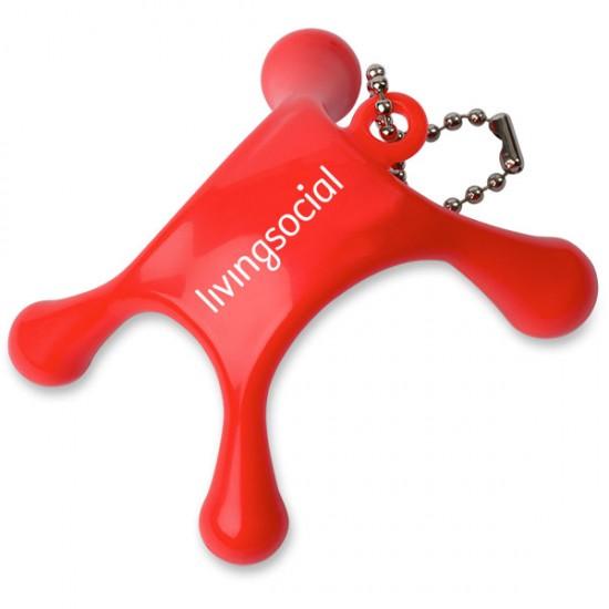 Custom Logo Mini Massager Keychain with Your Logo