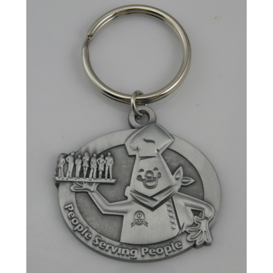 Custom Metal Keychains with Your Logo - Our Most Popular Selling Key Tag