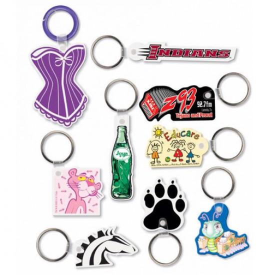 Custom Logo Sof-Touch (R) smartring - Custom shape key with split ring.