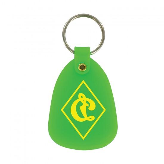 Custom Logo Plastic Tuff Key Tag